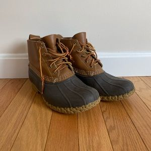 Short LLBEAN boots *lightly used*